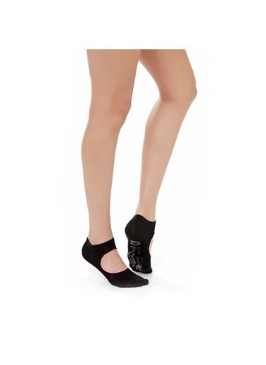 Katia & Bony Active Kadın Görünmez Çorap  Siyah